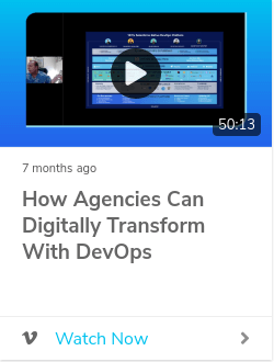 How Agencies Can Digitally Transform with DevOps