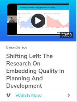 Shifting Left: The Research on Embedding Quality in Planning and Development